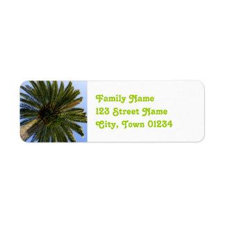 Cambodia Palmya Palm Label