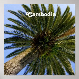 Cambodia Palmya Palm Poster
