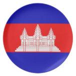 CAMBODIA PARTY PLATES