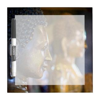 Cambodia, Phnom Penh. Buddha statues Dry-Erase Board