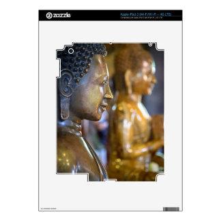 Cambodia, Phnom Penh. Buddha statues iPad 3 Skin