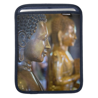 Cambodia, Phnom Penh. Buddha statues iPad Sleeve