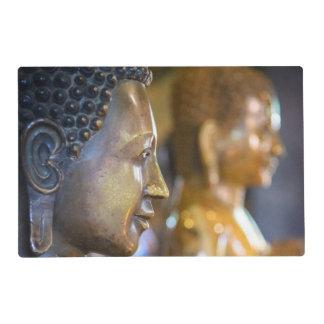 Cambodia, Phnom Penh. Buddha statues Placemat