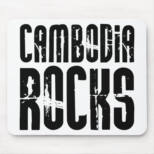 Cambodia Rocks Mouse Pad