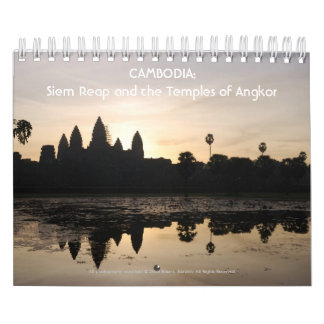 CAMBODIA: Siem Reap and the Temple... - Customized Calendar