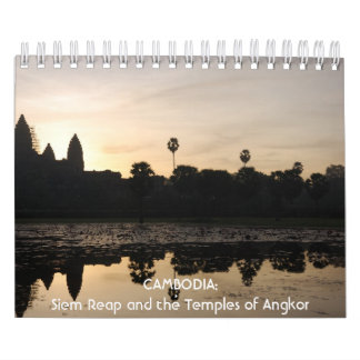 CAMBODIA: Siem Reap and the Temples of Angkor Calendar