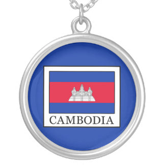 Cambodia Silver Plated Necklace