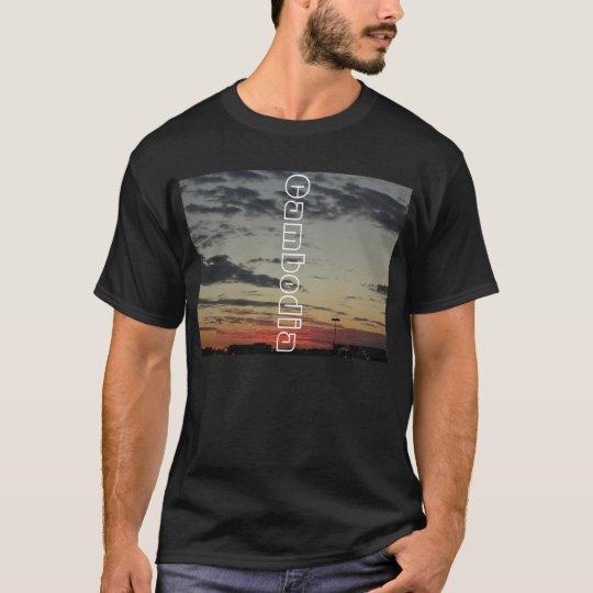 Cambodia Sky Line T-Shirt