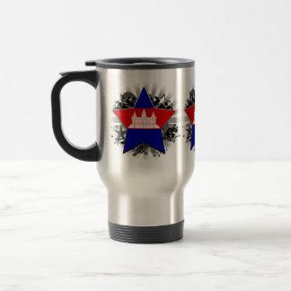 Cambodia Star 15 Oz Stainless Steel Travel Mug
