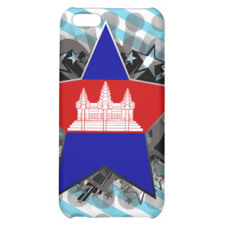 Cambodia Star Cover For iPhone 5C