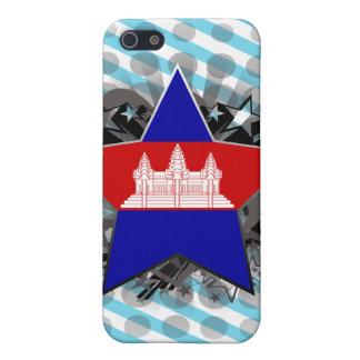 Cambodia Star iPhone 5/5S Cover