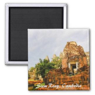 Cambodia Temple Ruins Magnet
