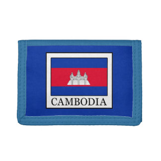Cambodia Trifold Wallets