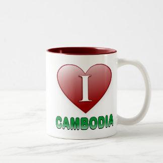 Cambodia Two-Tone Coffee Mug