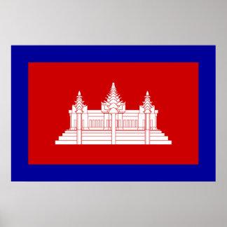 Cambodia Under French Protection, Cambodia Print