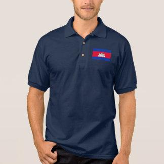 Cambodia World Flag Polo Shirt