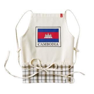 Cambodia Zazzle HEART Apron