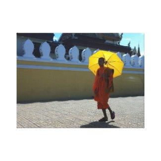 Cambodian Buddhist Monk Canvas Print