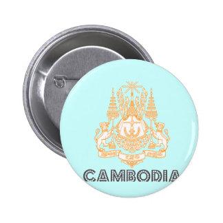 Cambodian Emblem Pin