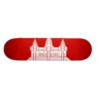 Cambodian Flag Skateboard Decks