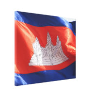 cambodian flag wave