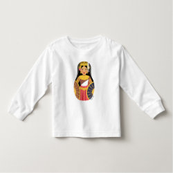 Cambodian Girl Matryoshka Toddler Long Sleeve Shirt