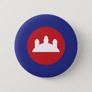 Cambodian Roundel Button