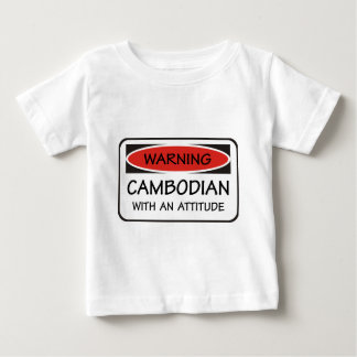 Cambodian With An Attitude T Shirt