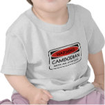 Cambodian With An Attitude Tshirts