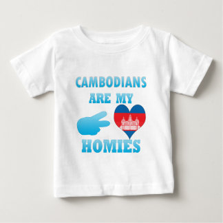 Cambodians are my Homies Baby T-Shirt