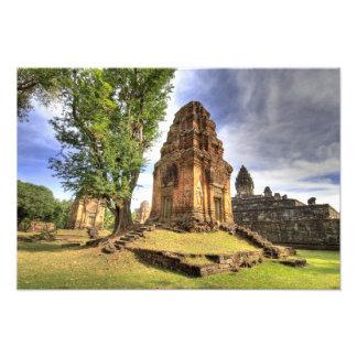 Camboya, Angkor Wat. Vista del templo de Bakong Fotografía