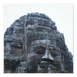 Camboya Invitación 13,3 Cm X 13,3cm