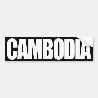 Camboya Pegatina Para Auto