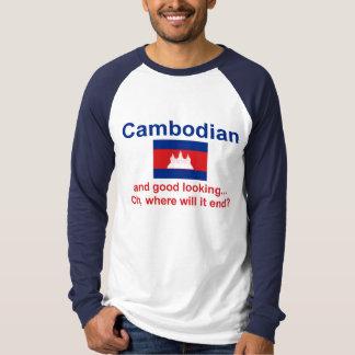 Camboyano apuesto playera