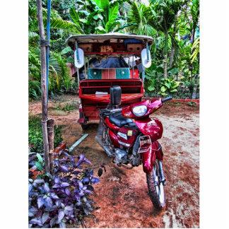 Camboyano Tuk-Tuk 1 Fotoescultura Vertical