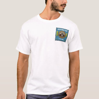 Cambria County Bicenten Stamp, Pocket Size Imprint T-Shirt