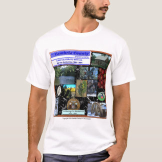 Cambria County Bicentennial Collage T-Shirt