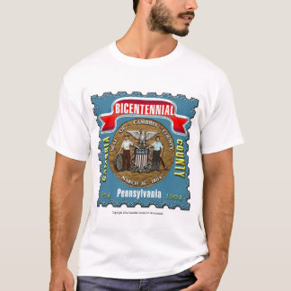 Cambria County Bicentennial Stamp T-Shirt