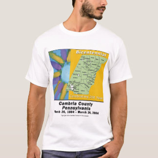 Cambria County Bicentennial  T-Shirt