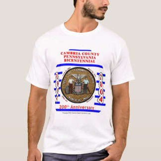 Cambria County Red and Blue T-Shirt