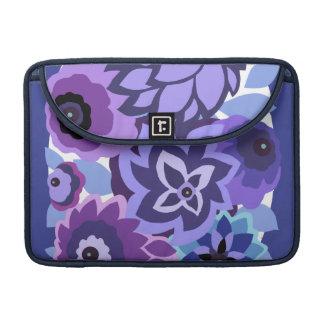 CAMBRIA en púrpuras y azules Funda Para Macbook Pro