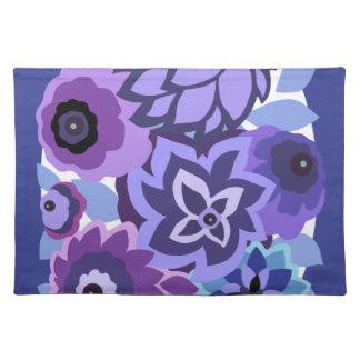 CAMBRIA en púrpuras y azules Mantel Individual
