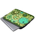 CAMBRIA en sombras del verde Funda Computadora