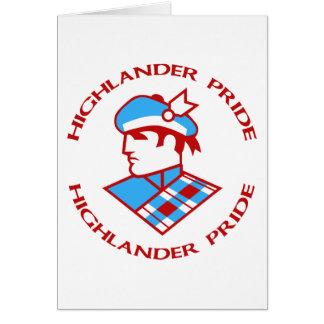 Cambria Heights Highlander Pride Design Card
