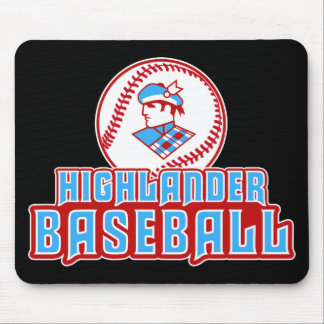 Cambria Heights Highlanders Baseball Design Mouse Pad