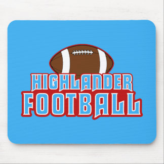 Cambria Heights Highlanders Football Design Mouse Pad