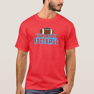 Cambria Heights Highlanders Football Design T-Shirt