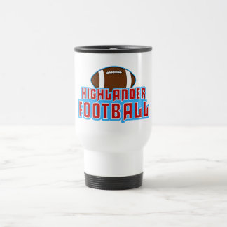 Cambria Heights Highlanders Football Design Travel Mug