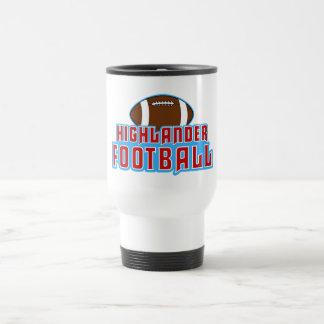 Cambria Heights Highlanders Football Design Travel Mug