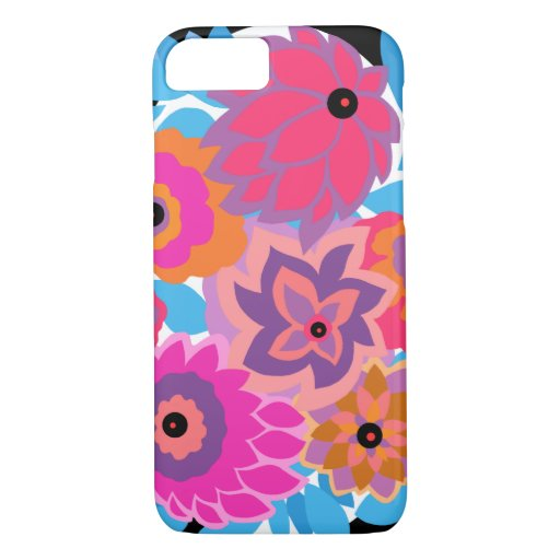 CAMBRIA in Hot Pink and Blue iPhone 8/7 Case